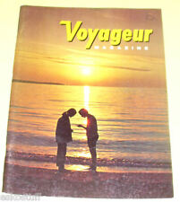 Voyageur Magazine 1971 Vol 2 No 8 Beautiful Color Photos! Nice See!