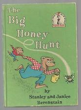 Berenstain Bears  THE BIG HONEY HUNT Beginner Books  ex++ 1962  EARLY  BOOK CLUB