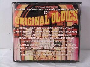 Original Oldies of the 50s original Artists 4 CD Set