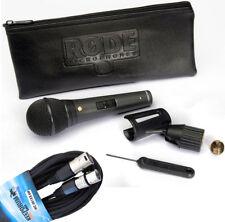 Rode M1-S Dynamisches Mikrofon + Keepdrum Mikrofonkabel