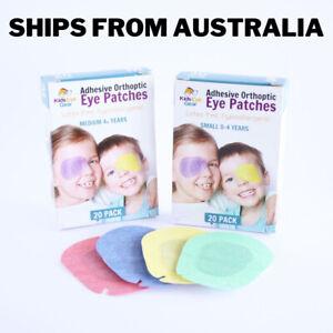 Kids Eye Gear Adhesive Eye Patches for Kids Lazy Eye MEDIUM MIXED Box 20
