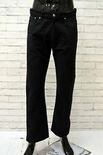 Pantalone Uomo MARLBORO CLASSICS Taglia 33 Jeans Pants Man Cotone Nero a Costine