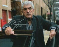 Frank Vincent (1937-2017) Autographed 8x10 Photograph Actor The Sopranos Coa Ttm