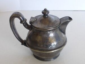 EXTREMELY RARE Hotel Wentworth Oak Knoll Pasadena Tea Coffee Pot Soldered Silver