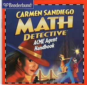 MATH DETECTIVE |  AGE 8 TO 14  | VGC | Windows 95 98 XP ( 7 8 10 see listing )