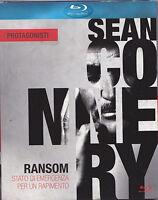 Blu-ray **RANSOM ♦ STATO DI EMERGENZA PER UN RAPIMENTO** con Sean Connery 1974