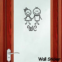 à l'eau home déco vignette de toilette fresque mur autocollant papier peint