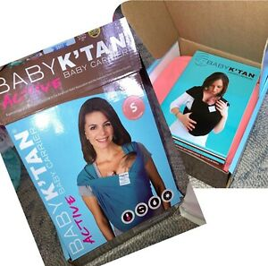 BabY K'Tan Active Wrap, Coral, NIB, size S