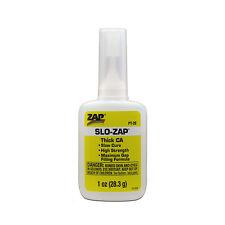 Pacer Zap SLO ZAP ca slow set Cyano Adhesive 1oz PT20