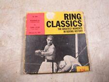 Vintage Ring Classics Feb-25-1964 Muhammad Ali Vs Sonny Liston 8mm Boxing Film