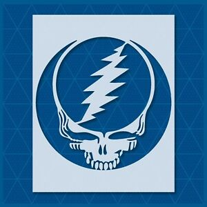 Steal Your Face Stencil - Reusable&Durable Greatful Dead