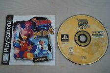 X-men vs Street Fighter (Sony Playstation 1) * Disk and Manual *