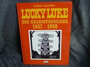 """Lucky Luke - die Gesamtausgabe; Teil: 1957 - 1958  """"RAR!"""" im Buchhandel vergriff"""