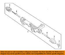FORD OEM Steering Gear-Inner Tie Rod End 3F2Z3280AA