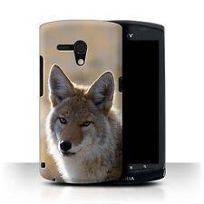 STUFF4 Case/Cover for Sony Xperia Neo L/MT25i/North America Animals/Coyote