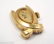 Vintage Vintage Le Coultre 14k Gold Retro 1940's Ladies Watch Head