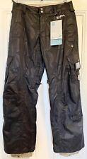 Burton Women's Black Stow Cargo Snowboard Pants NWT size S