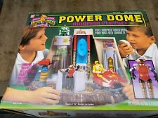 Power Dome Playset Mighty Morphin Power Rangers Bandai 1994 100% Complete Sealed