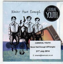 (FG219) Carnival Youth, Never Have Enough - 2014 DJ CD