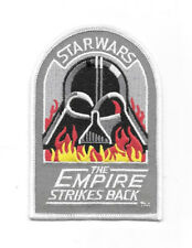 Star Wars: The Empire Strikes Back New Vader Logo Embroidered Patch NEW UNUSED