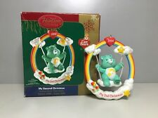 2006 Care Bears My Second Christmas Ornament Carlton Cards American Greeting Box