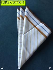 men's cotton handkerchief / vintage design
