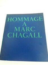CHAGALL MARC -LIVRE SUR EXPOSITION GRAND PALAIS DE L'ARTISTE EN 1969/1970 - L10