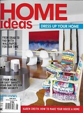 Home Ideas magazine Decorating Kitchens and bathrooms Artisanal lighting design