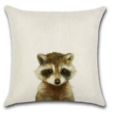 Pillowcase Animal Printed Throw Cushion Cover Decor Sofa Waist Pillow Case WL