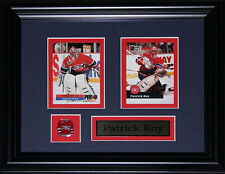 Patrick Roy Montreal Canadiens 2 card frame