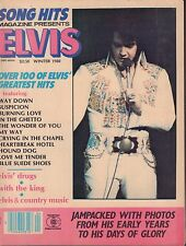 Song Hits Magazine Presents Elvis Winter 1980 Love me tender,My Way 052517nonDBE