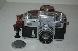 Kiev-III (3) Vintage 1954 Soviet Rangefinder Camera With Case. B541843. UK Sale