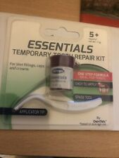 Dentek Essentials Temporary Tooth Repair Kit For Lost Fillings, Caps And Crowns.