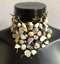 Unique Natural Sea Shell Mermaid Costume Necklace Choker