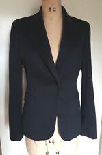 Tahari women's black career work blazer jacket, lined 6