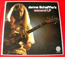 Janne Schaffer's Second LP UK ORIG 1975 Vertigo 6360 118 Prog/Jazz Rock VINYL