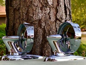 "( 2 )  Vintage 1950's 1960's  NELMOR "" WADE PARK ""  Mirrors"