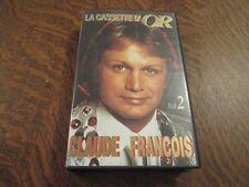 cassette vhs la cassette d'or CLAUDE FRANCOIS volume 2