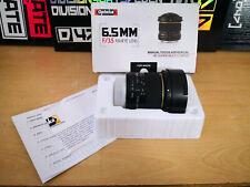 Opteka 6.5mm Nikon DSLR fisheye wide angle lens