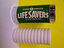 vintage WINT O GREEN Life Savers 12 piece stacking puzzle