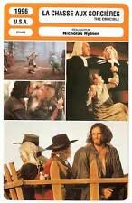 FICHE CINEMA : LA CHASSE AUX SORCIERES - Day-Lewis,Ryder 1996 The Crucible