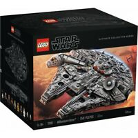 LEGO Star Wars Ultimate Millennium Falcon 75192 Expert Building Kit NEW SEALED!
