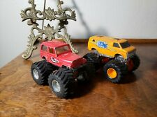 Vintage Matchbox Super Chargers Rollin Thunder Monster Truck Van Sun Ray Jeep
