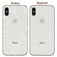 iPhone X XS XSM 8 8P 7 7P Back Glass Repair Service