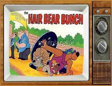 "THE HAIR BEAR BUNCH TV Fridge MAGNET  2"" x 3"" art SATURDAY MORNING CARTOONS"