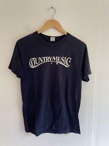 vintage champion t shirt single stitch 1980s country music vntg s/m