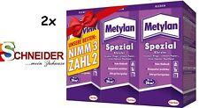 2x Kleister Metylan Spezial Aktionspaket 6x200g = 1.200g Vorteilspack