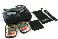 DAISY CHANGEABLE LENSE MOTORCYCLE SUNGLASSES MOTORCYCLE SUN GLASS WITH FOAM@!