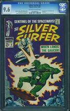 Silver Surfer #2 CGC 9.6 1968 Fantastic Four! Stan Lee! C6 9505 1 cm clean