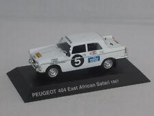 PEUGEOT 404 EAST AFRICAN SAFARI 1967 HACHETTE 1/43